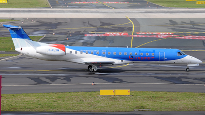 G-RJXM - Embraer ERJ-145MP - Loganair