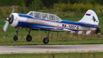 RA-1057G - Yakovlev Yak-52 - Private