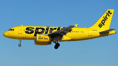 N534NK - Airbus A319-132 - Spirit Airlines