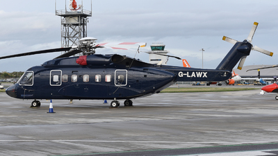 G-LAWX - Sikorsky S-92A Helibus - Starspeed