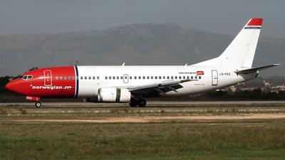 LN-KKG - Boeing 737-3K2 - Norwegian