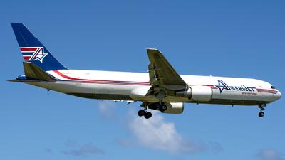 A picture of N316CM - Boeing 767338(ER)(BDSF) - Amerijet International - © Hector Rivera-HR Planespotter