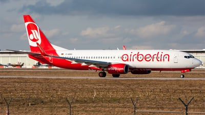 D-ABBX - Boeing 737-808 - Air Berlin