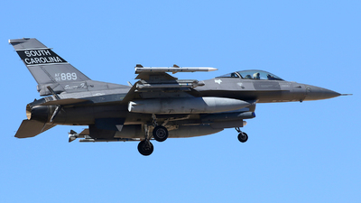 92-3889 - Lockheed Martin F-16CM Fighting Falcon - United States - US Air Force (USAF)