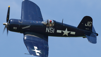NX83JC - Goodyear FG-1D Corsair - Private