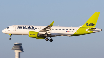 A picture of YLCSF - Airbus A220300 - Air Baltic - © Rickard Andersson