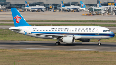A picture of B6291 - Airbus A320214 - China Southern Airlines - © ZGGG RWY01