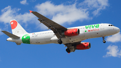 XA-VAB - Airbus A320-232 - VivaAerobus