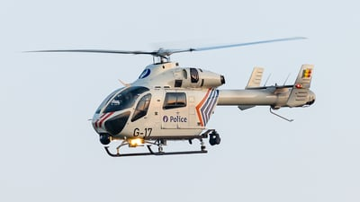 G-17 - MD Helicopters MD-902 Explorer - Belgium - Federal Police