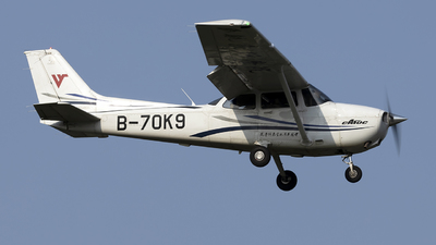 B-70K9 - Cessna 172S Skyhawk SP - Civil Aviation Flight University of China