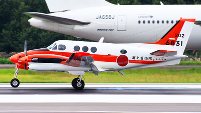 6831 - Beechcraft TC-90 King Air - Japan - Maritime Self Defence Force (JMSDF)