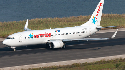CS-TQU - Boeing 737-8K2 - Corendon Dutch Airlines (EuroAtlantic Airways)