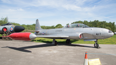 21417 - Canadair CT-133 Silver Star - Canada - Royal Air Force