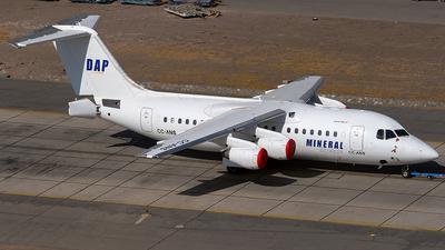 A picture of CCANS - Avro RJ85 - Aerovias DAP - © Carlos P. Valle C.