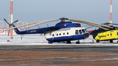 RF-28963 - Mil Mi-8T Hip - Russia - Ministry of Interior