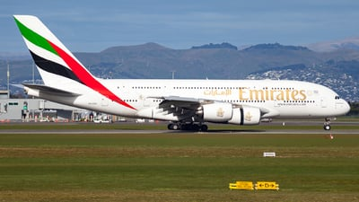 A6-EDP - Airbus A380-861 - Emirates