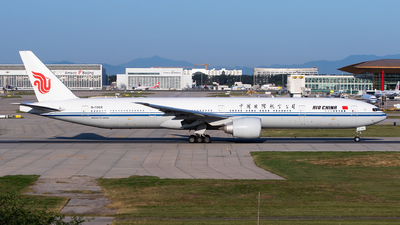 A picture of B7869 - Boeing 77739L(ER) - Air China - © Sebastian Shen