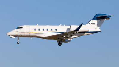 N714F - Bombardier BD-100-1A10 Challenger 350 - Private