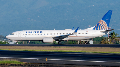 A picture of N77536 - Boeing 737824 - United Airlines - © Juan Pablo MS