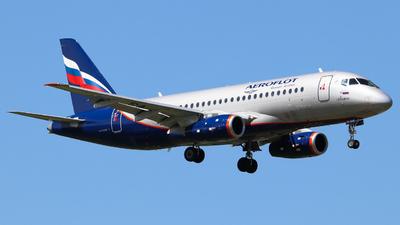 A picture of RA89061 - Sukhoi Superjet 10095B - Rossiya - © Vitaly Revyakin