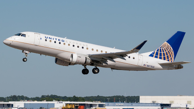A picture of N87306 - Embraer E175LR - United Airlines - © Positive Rate Photography