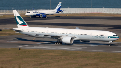 B-KQU - Boeing 777-367ER - Cathay Pacific Airways