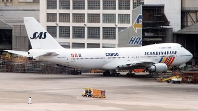 N517MC - Boeing 747-243B(SF) - Scandinavian Airlines Cargo (Atlas Air)