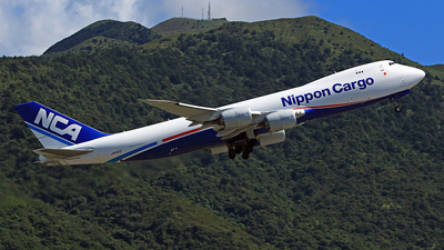 A picture of JA14KZ - Boeing 7478KZ(F) - Nippon Cargo Airlines - © win1038