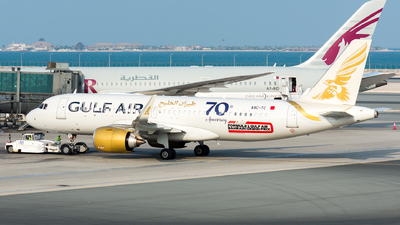 A9C-TC - Airbus A320-251N - Gulf Air