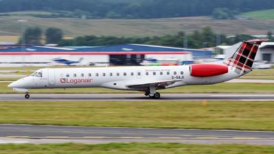 A picture of GSAJI - Embraer ERJ145EP - Loganair - © Kyle McKinlay