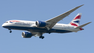 A picture of GZBJH - Boeing 7878 Dreamliner - British Airways - © Cris.Spotter.mg