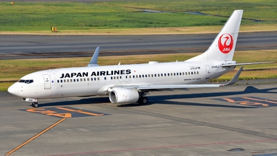 JA346J - Boeing 737-846 - Japan Airlines (JAL)