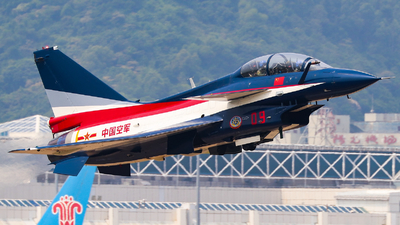 09 - Chengdu J10SY - China - Air Force