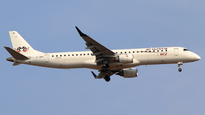 A picture of XTABV - Embraer E195AR - Air Burkina - © Sander in West-Africa