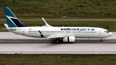 C-GJWS - Boeing 737-8CT - WestJet Airlines
