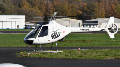 F-HGDE - Guimbal Cabri G2 - Private
