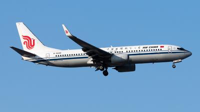 B-5848 - Boeing 737-89L - Air China