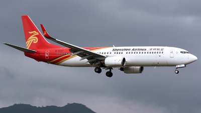 A picture of B5317 - Boeing 73786N - Shenzhen Airlines - © MTG_001