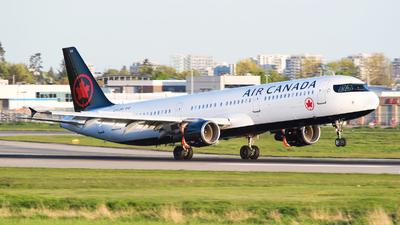 C-FJNX - Airbus A321-211 - Air Canada