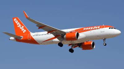 G-UZLJ - Airbus A320-251N - easyJet