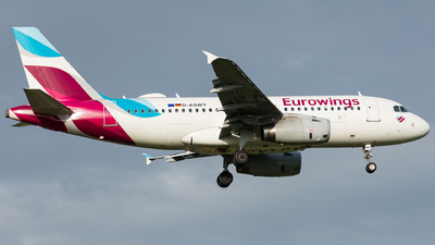 D-AGWY - Airbus A319-132 - Eurowings