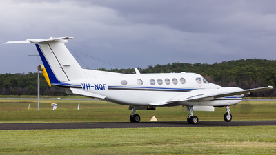 VH-NQF - Beechcraft 200 Super King Air - Altitude Aviation