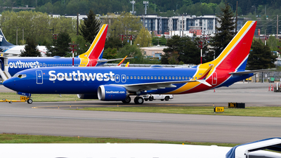 N8736J - Boeing 737-8 MAX - Southwest Airlines