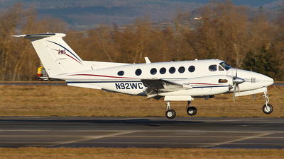 N92WC - Beechcraft B200 Super King Air - Private