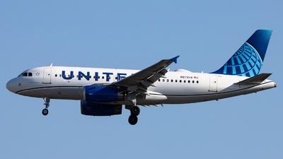 N872UA - Airbus A319-132 - United Airlines