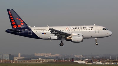 OO-SSU - Airbus A319-111 - Brussels Airlines