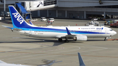 JA58AN - Boeing 737-881 - All Nippon Airways (ANA)