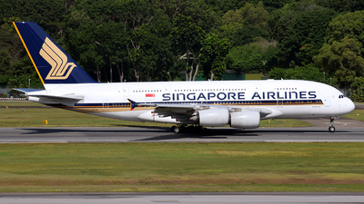 A picture of 9VSKI - Airbus A380841 - Singapore Airlines - © 42 dono