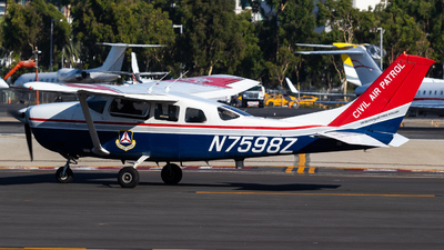 N7598Z - Cessna U206G Stationair - United States - US Air Force Civil Air Patrol