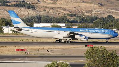 LV-CSF - Airbus A340-313X - Aerolíneas Argentinas